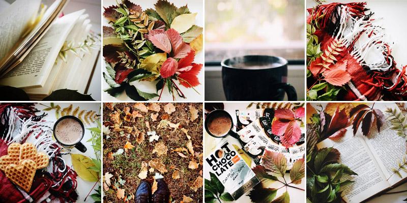 Осень в Instagram