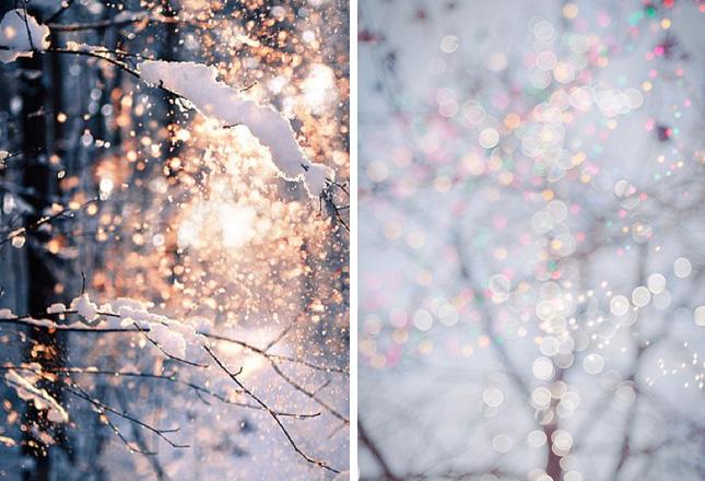 Волшебная новогодняя атмосфера