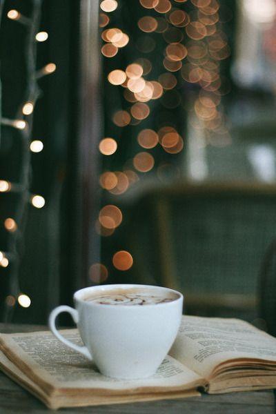 Кофе книга уют