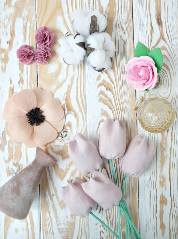 Цветы своими руками — 5 крутых идей